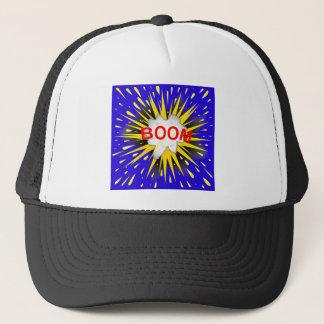 Boom Cartoon Bubble Trucker Hat