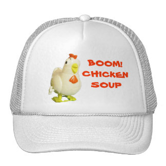 Boom! Chicken Soup Wind Up Chick Cap