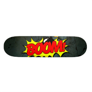 Boom - Comic Sign / Skateboard
