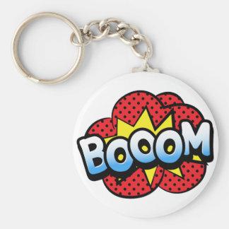 Boom dynamite key ring