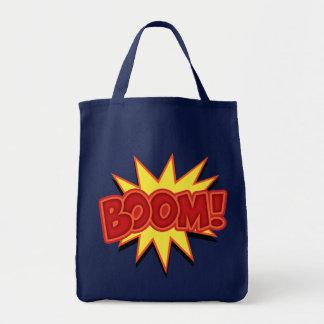 Boom! Grocery Tote Bag