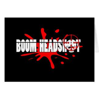 Boom   Headshot Card