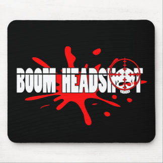 Boom   Headshot Mouse Pad