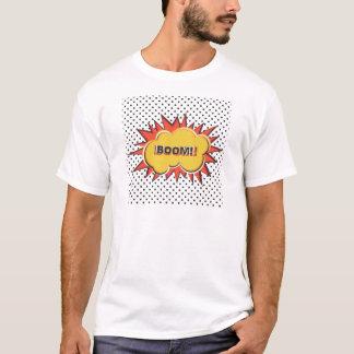 Boom Pop Art Comic Book explosion cartoon T-Shirt