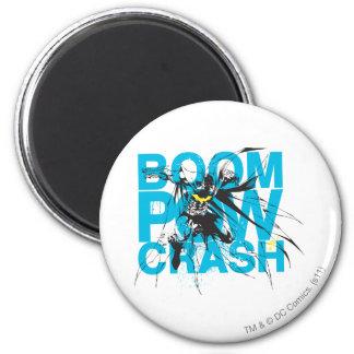 Boom Pow Crash 6 Cm Round Magnet