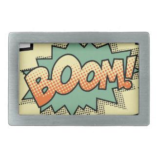 boom rectangular belt buckles
