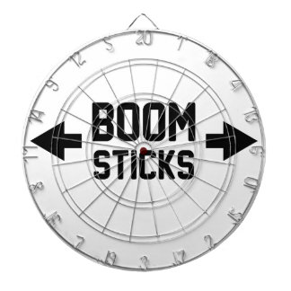 Boom Sticks Dartboard
