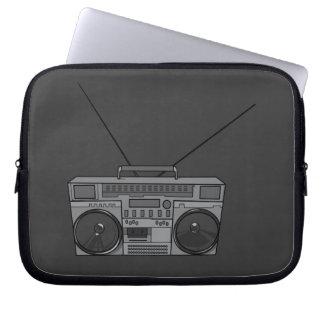 Boombox / Boom Box Stereo Tape Radio Player Laptop Sleeve