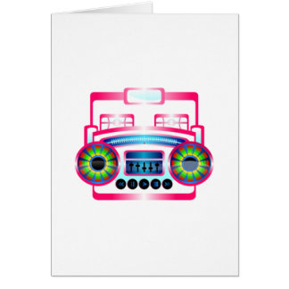 Boombox Greeting Cards