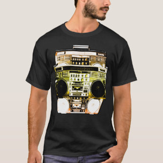 Boombox Color Fade ( Gold ) T-Shirt