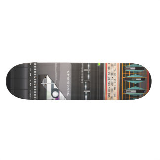 Boombox Ghetto Blaster 21.3 Cm Mini Skateboard Deck