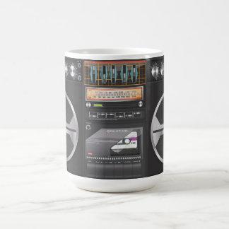 Boombox Ghetto Blaster Coffee Mug