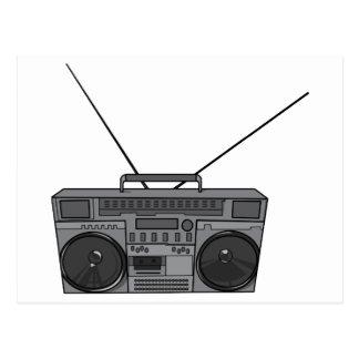 Boombox Ghetto Blaster Jambox Radio Cassette Post Cards