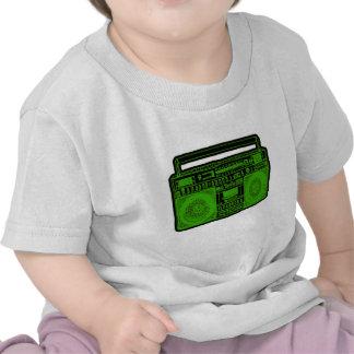 boombox ghetto blaster radio t shirts