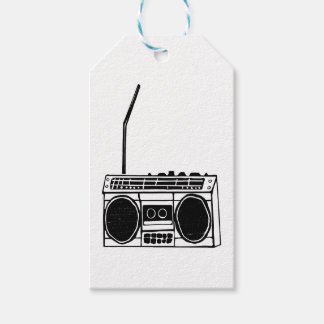 Boombox Gift Tags