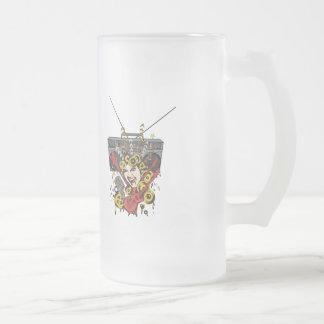 Boombox Girl ~ Retro Music Fantasy Art Coffee Mugs