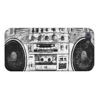 Boombox graffiti iPhone 5/5S case