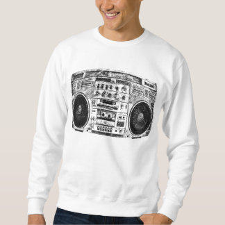 Boombox graffiti sweatshirt
