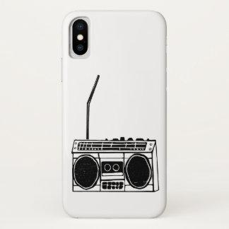 Boombox iPhone X Case