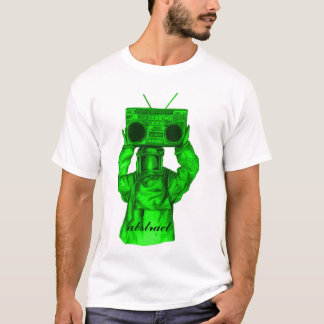 boombox man, abstract T-Shirt