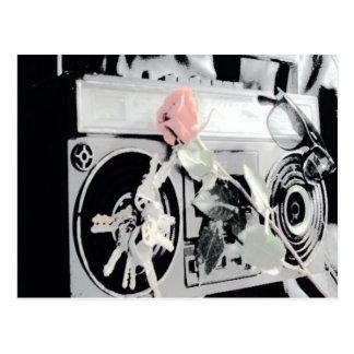 BoomBox Music Postcards by Jokeapptv tm