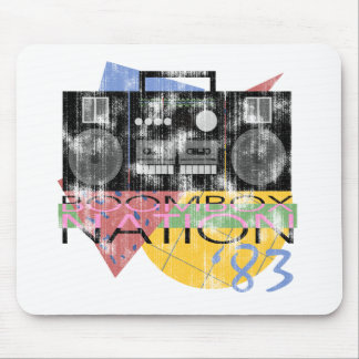 Boombox Nation 83 Mouse Pad
