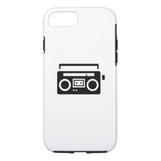 Boombox Pictogram iPhone 7 Case