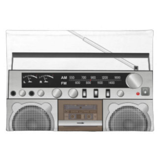 Boombox Placemat