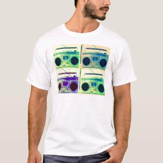 Boombox Quad Style T-Shirt