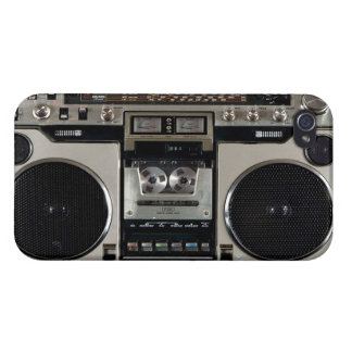 Boombox Vintage iPhone Case Cases For iPhone 4
