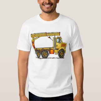 Boomed Flatbed Truck Construction Apparel Shirts