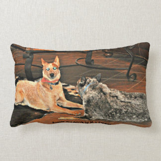 Boomer and Jessie Lumbar Pillow