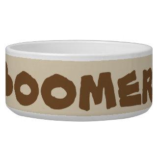"""""""Boomer"""" Dog Bowl"""