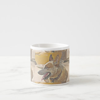 Boomer Red Heeler Espresso Mug