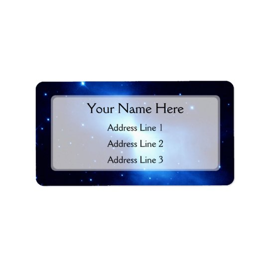 Boomerang Nebula (Hubble Telescope) Address Label