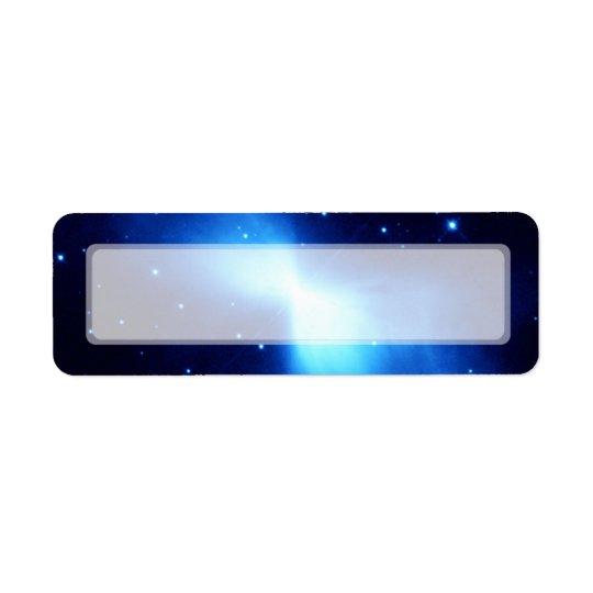 Boomerang Nebula (Hubble Telescope) Return Address Label