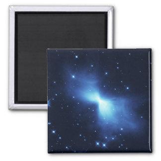 Boomerang nebula in space magnet