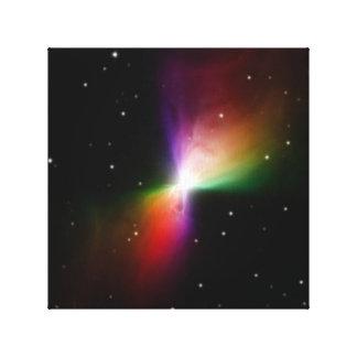 Boomerang Nebula in space NASA Canvas Print