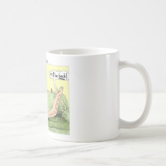 Boomerang Relagionships Funny Cartoon Gifts & Tees Basic White Mug