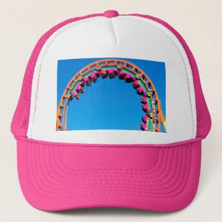Boomerang Roller Coaster Worlds of Fun, KC Trucker Hat