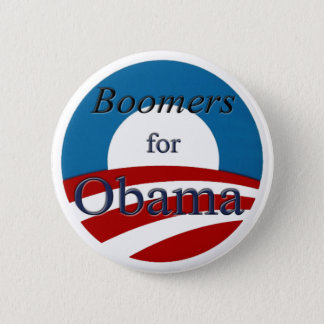 Boomers for Obama - Button