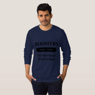 Boomers  We Invented Rock N Roll long sleeve shirt