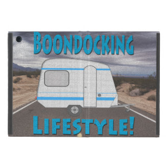 Boondocking Lifestyle Camper Design Cover For iPad Mini