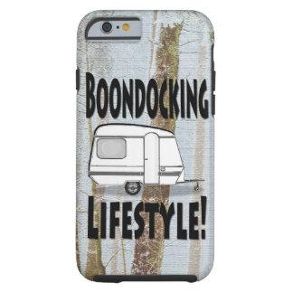 Boondocking Lifestyle Camper Design Tough iPhone 6 Case