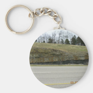 Boone Fm. Chattanoga Shale Contact Outcrop, Madiso Keychain