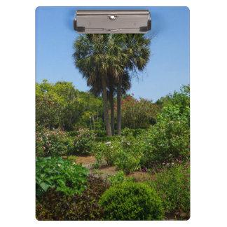 Boone Hall Garden Clipboards