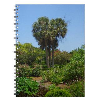 Boone Hall Garden Spiral Notebook