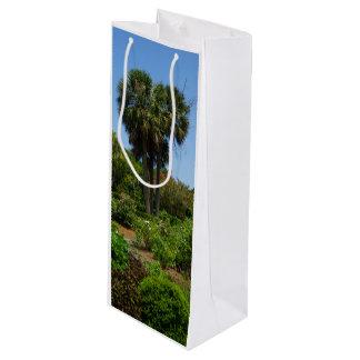 Boone Hall Garden Wine Gift Bag