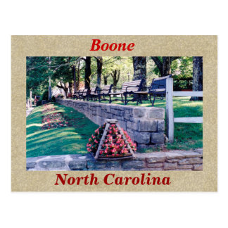 Boone North Carolina Postcard