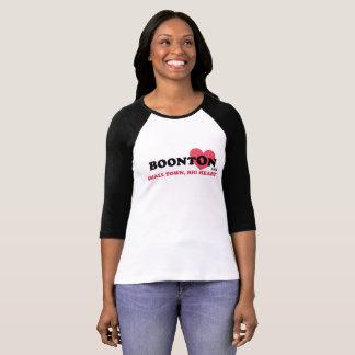 BOONTON USA, SMALL TOWN, BIG HEART 3/4 SLEEVE T-Shirt